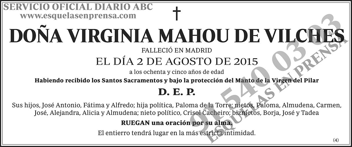 Virginia Mahou de Vilches